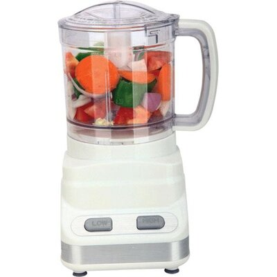 3 Cup Food Processor Color: White FP-546
