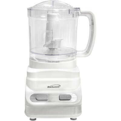 Brentwood 3 Cup Food Processor Color: White FP-546