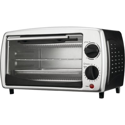 Brentwood 4-Slice Toaster Oven Broiler TS-345B