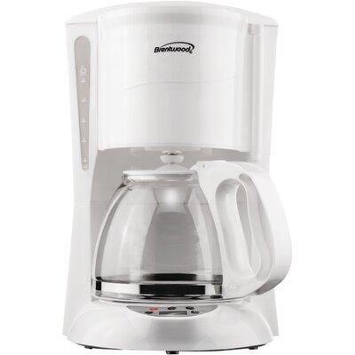 Digital Coffee Maker Color: White TS-218W