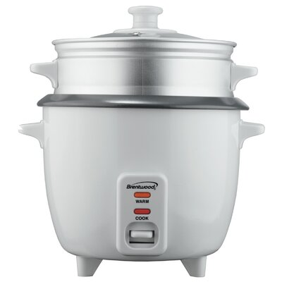 4 Cup Nonstick Rice Cooker with Steamer TS-700S