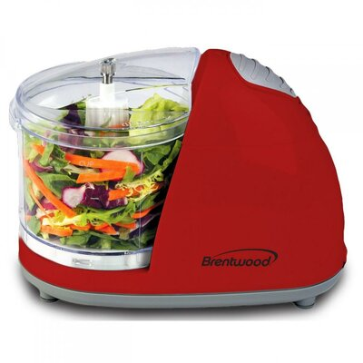 Food Chopper Color: Red MC105