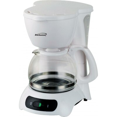 4 Cup Coffee Maker Color: White TS212