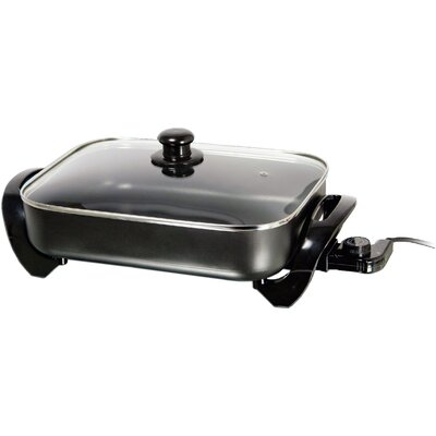 Electric Skillet with Glass Lid SK-75