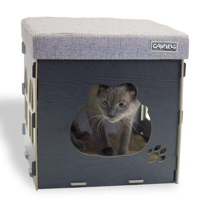 15 Cat Condo Color: Grey