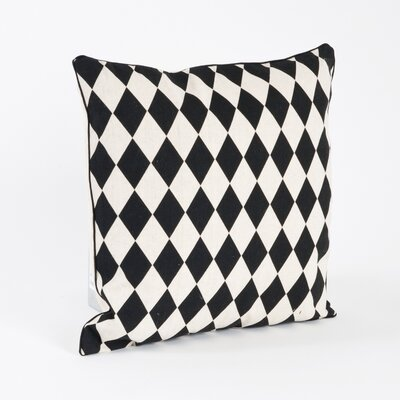 Harlequin Design Throw Pillow