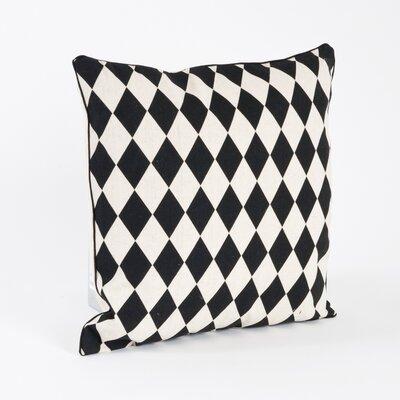 Harlequin Design Throw Pillow