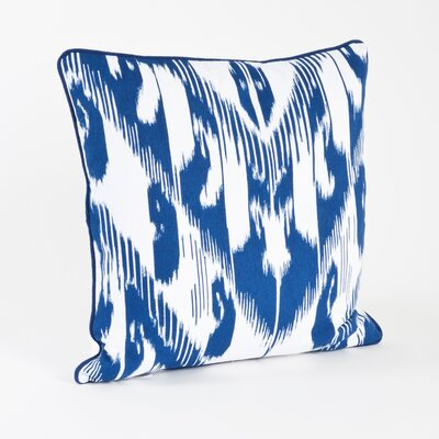 Kazhdam Ikat Design Cotton Throw Pillow