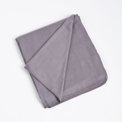 Rayon from Bamboo Classic Design Bamboo Rayon Throw Color: Grey