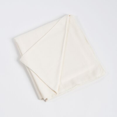 Rayon from Bamboo Classic Design Bamboo Rayon Throw Color: Ivory