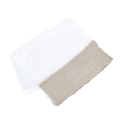 Plush Terry Hand Towel Color: Natural