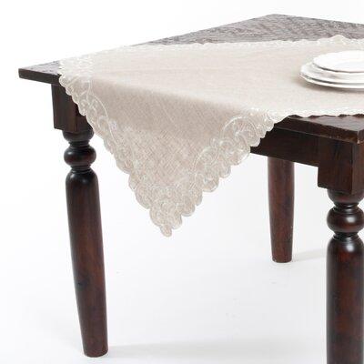 Jean Natural Embroidered Design Table Topper LRKM2464 39874549