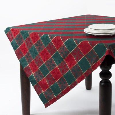 Saro Plaid Tablecloth (Set of 4)