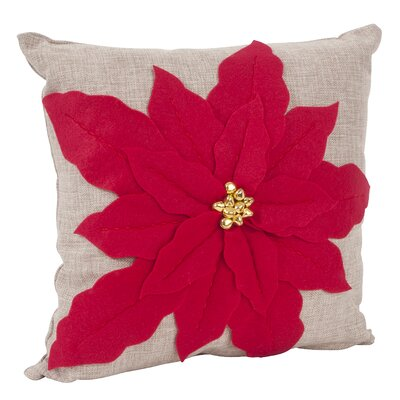 Throw Pillow Color: Red