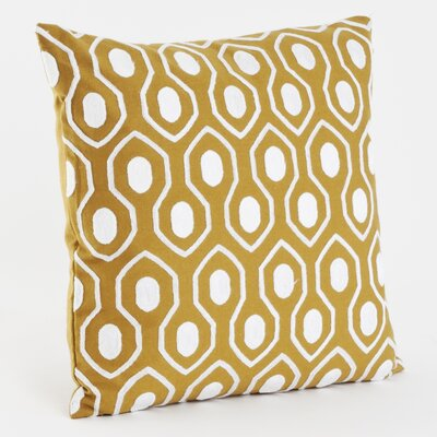 Moroccan Cotton Throw Pillow Color: Chartreuse