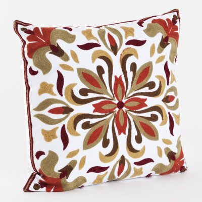 Dallas Cotton Throw Pillow