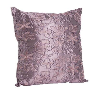 Throw Pillow Color: Eggplant