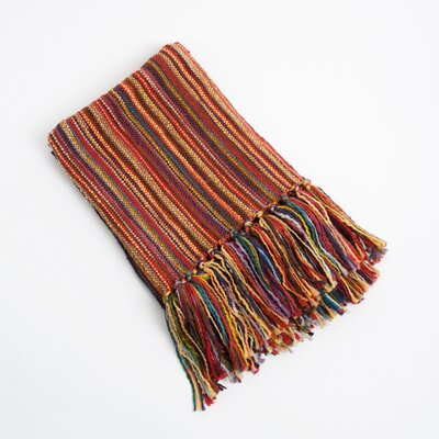 Woven Design Throw