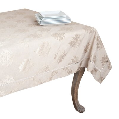 Drawnwork Damask Tablecloth DM871.T70120B