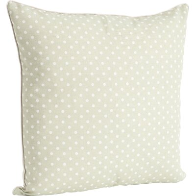 Ellie Dotted Design Throw Pillow Color: Pistachio