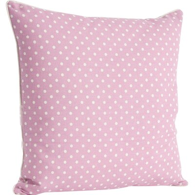 Ellie Dotted Design Throw Pillow Color: Sorbet