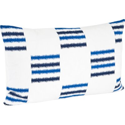 Sonya Line Design Cotton Floor Pillow Color: Cobalt Blue