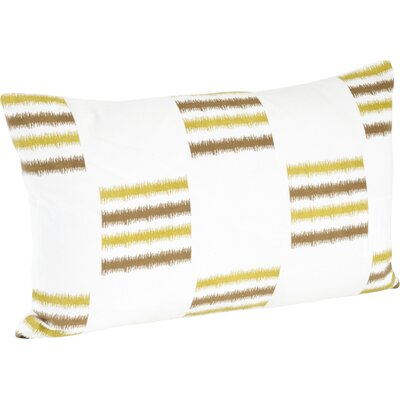 Sonya Line Design Cotton Floor Pillow Color: Chartreuse