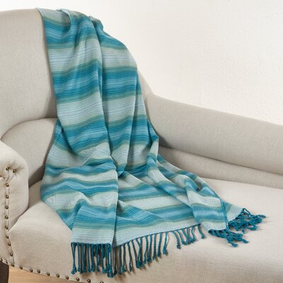 Sevan Woven Bamboo Rayon Throw Blanket TH105.M5060