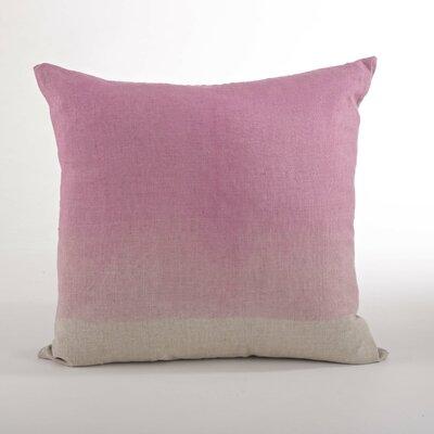Maratea Linen Throw Pillow Color: Sorbet