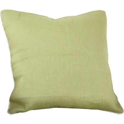 Lanai Throw Pillow Color: Pear