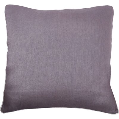 Lanai Throw Pillow Color: Gray