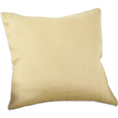 Lanai Throw Pillow Color: Yellow