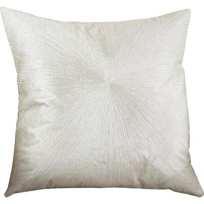 Shimmering Starburst Cotton Throw Pillow Color: Vanilla