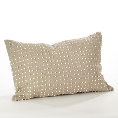 Leilani French Knot Cotton Lumbar Pillow