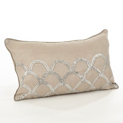 Posh Cotton Lumbar Pillow Color: Natural