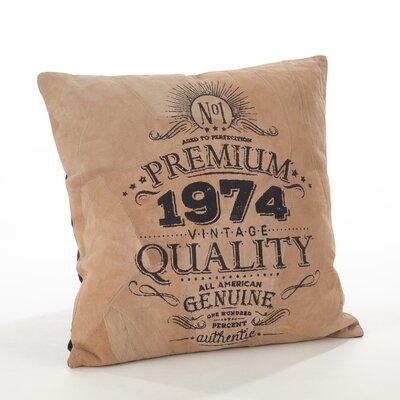 Corium Leather Throw Pillow