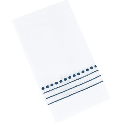 Elin Guest Hand Towel Color: Navy Blue