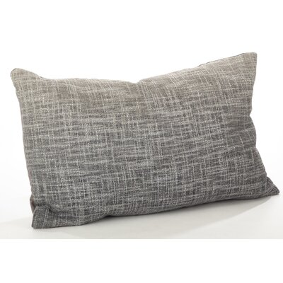 Lancaster Ombre Cotton Lumbar Pillow Color: Fog