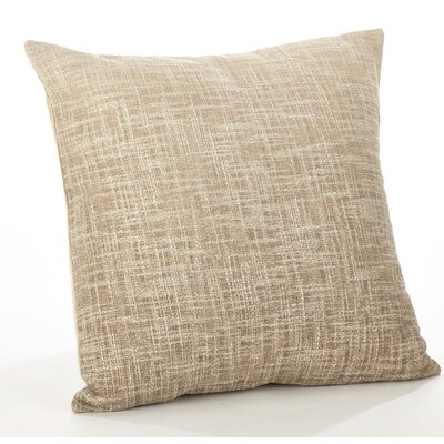 Lancaster Ombre Cotton Throw Pillow Color: Natural
