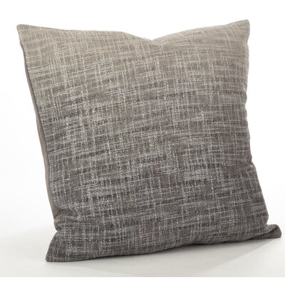 Lancaster Ombre Cotton Throw Pillow Color: Fog