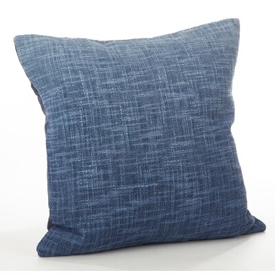 Lancaster Ombre Cotton Throw Pillow Color: Navy Blue