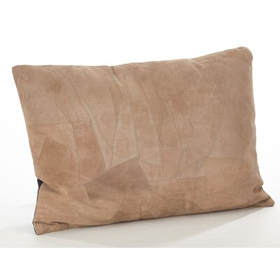 Corium Leather Lumbar Pillow Size: 14 H x 20 W