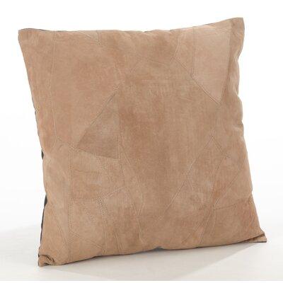 The Corium Leather Throw Pillow Size: 20 x 20