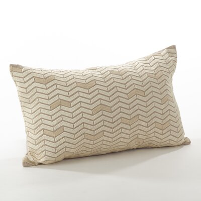 Marcella Cotton Throw Pillow Color: Ivory