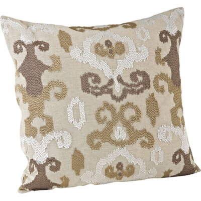 Lili Anna Embroidered Throw Pillow Color: Chartreuse