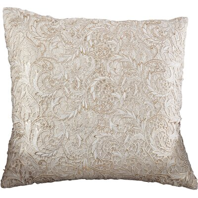 Lace Design Cotton Throw Pillow