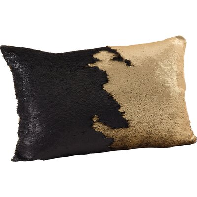Alandra Mermaid Throw Pillow Color: Gold