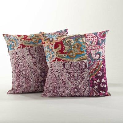 Jamawar Cotton Throw Pillow
