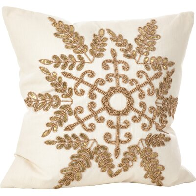 Cristabel Throw Pillow Color: Gold