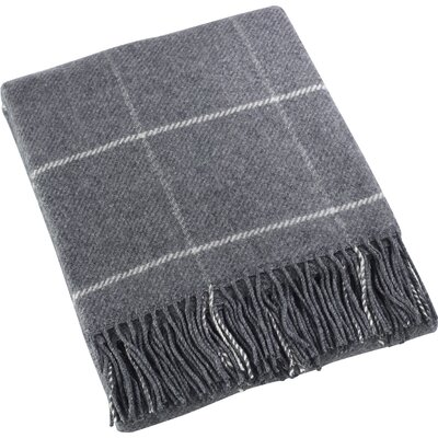 Mantua Geometric Throw Color: Gray